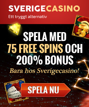 An image of the Sverigecasino banner