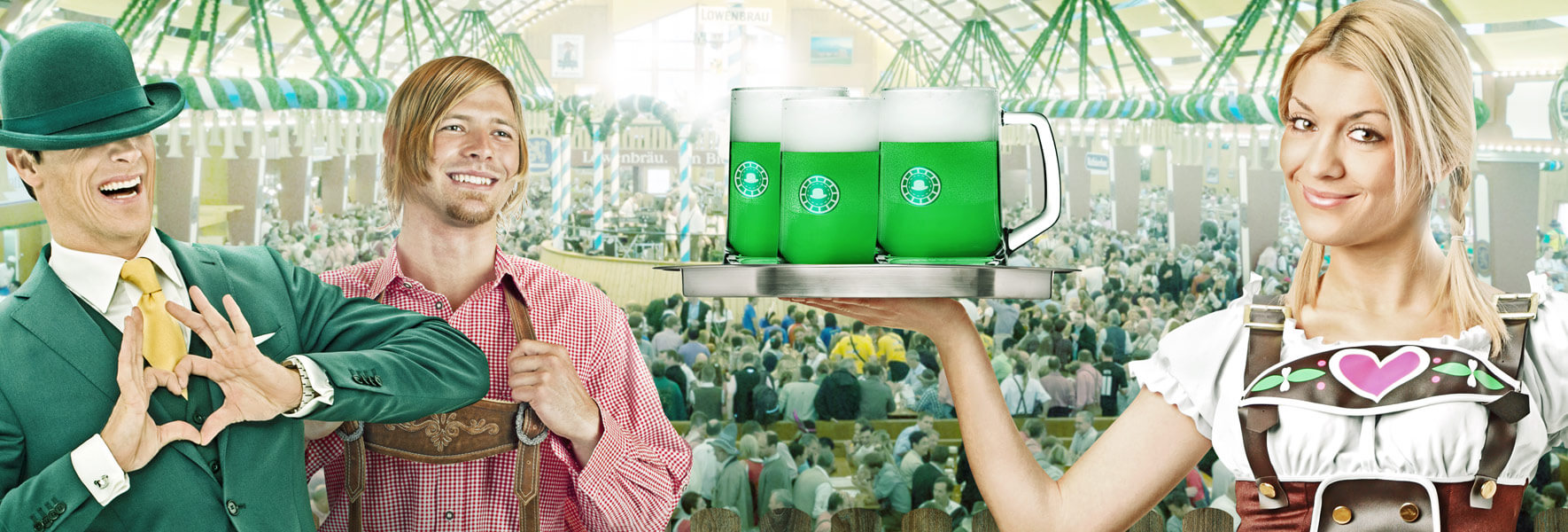 An image of the Oktoberfest promotion at Mr Green
