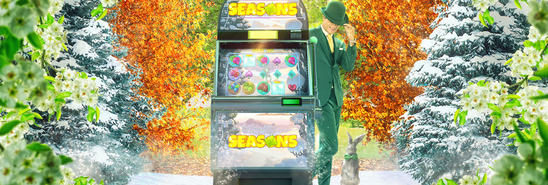 An image of the Seasons promotion at Mr Green