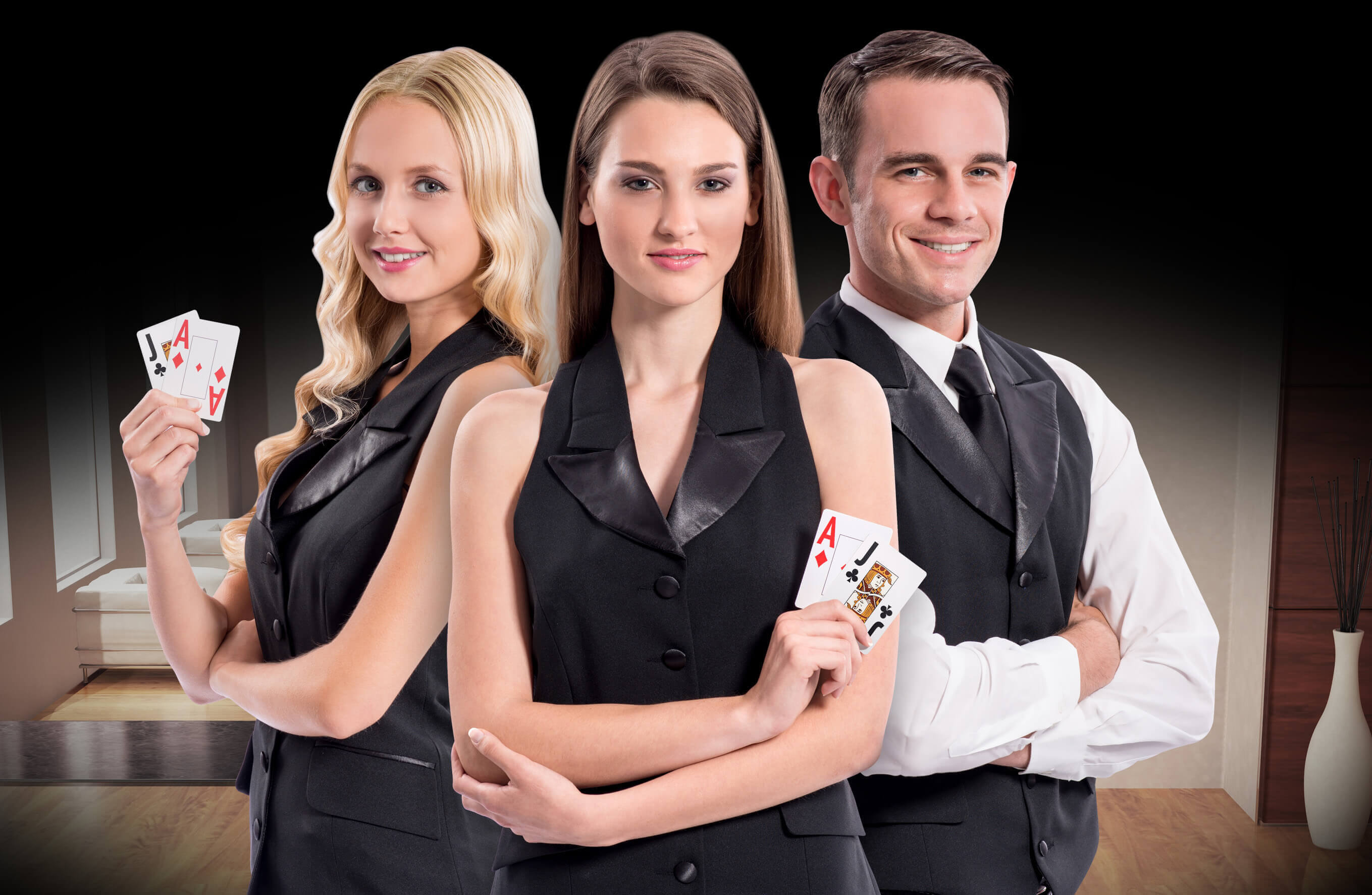 An image of Live Casino Dealers