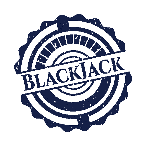 An image of a blackjack stamp