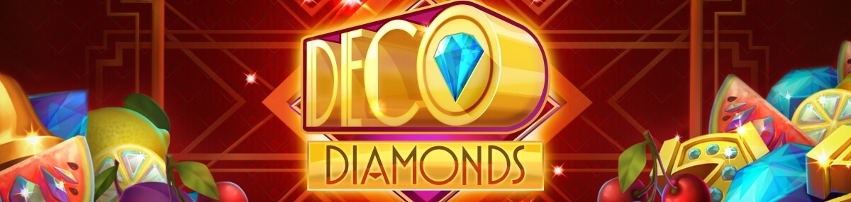 An image of the Deco Diamonds Banner