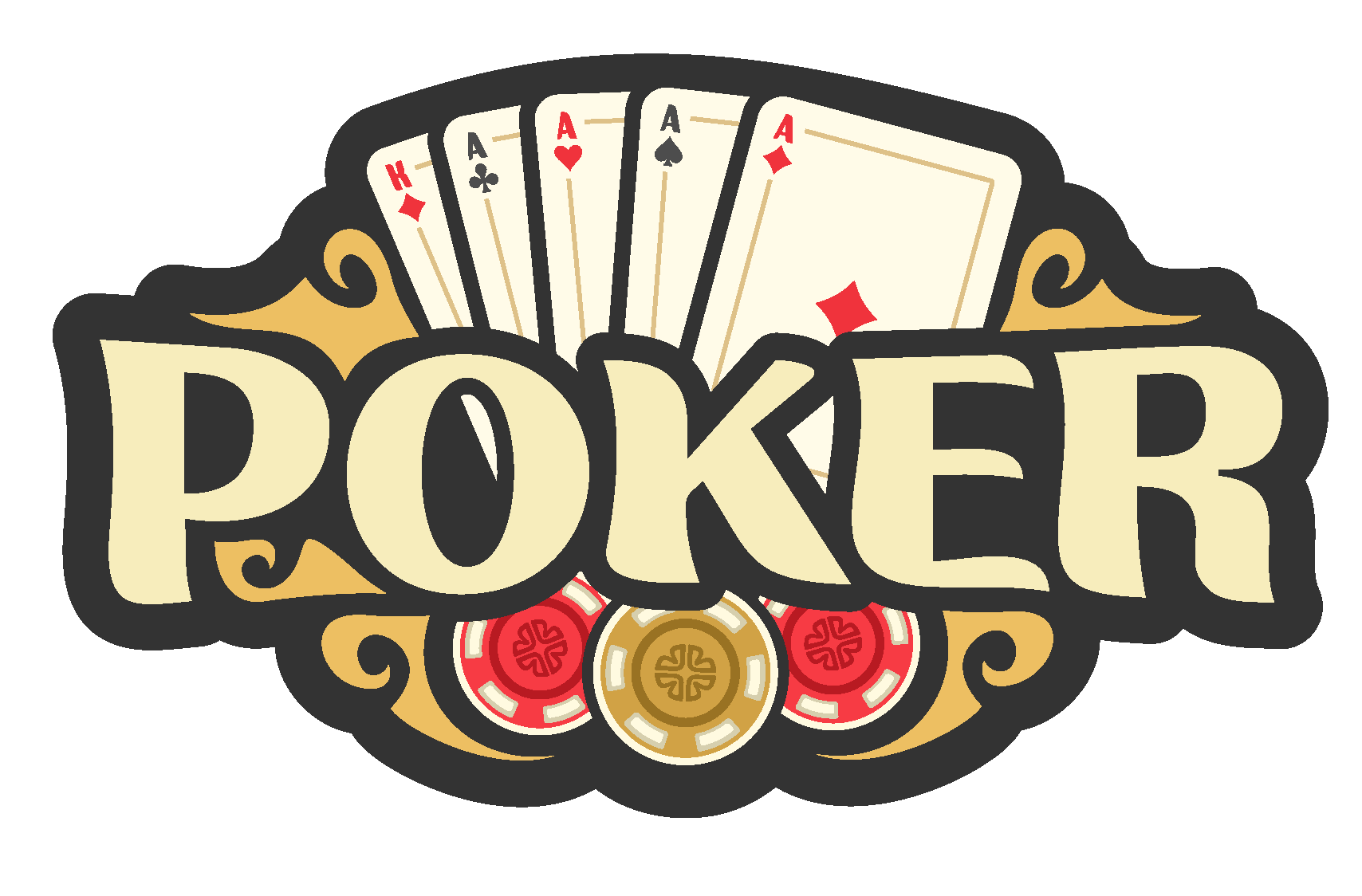 An image of poker text